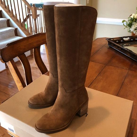 699f56252eb Lucky Brand Ritten Womens Suede Knee High Boots